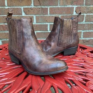Steve Madden Low Brown Chelsea Boots